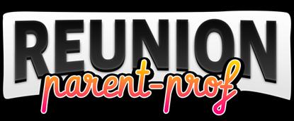 Logo du visual novel Reunion parent-prof