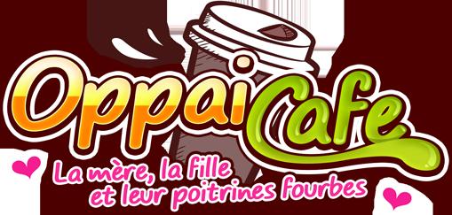 Logo du visual novel hentai Oppai-Cafe