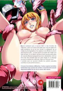 Couverture arrière du tome hentai Jeux érotiques