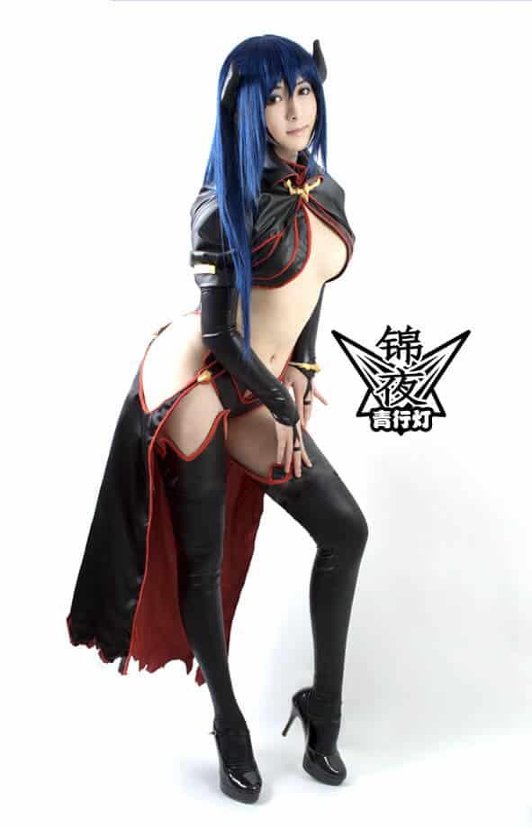 Yuushakara parodie cosplay sexy ecchi
