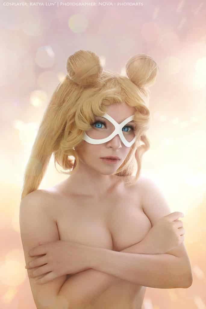 Cosplay sexy de Sailor moon façon ecchi hentai