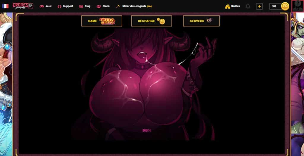 Screenshot du jeu Gods of hentai