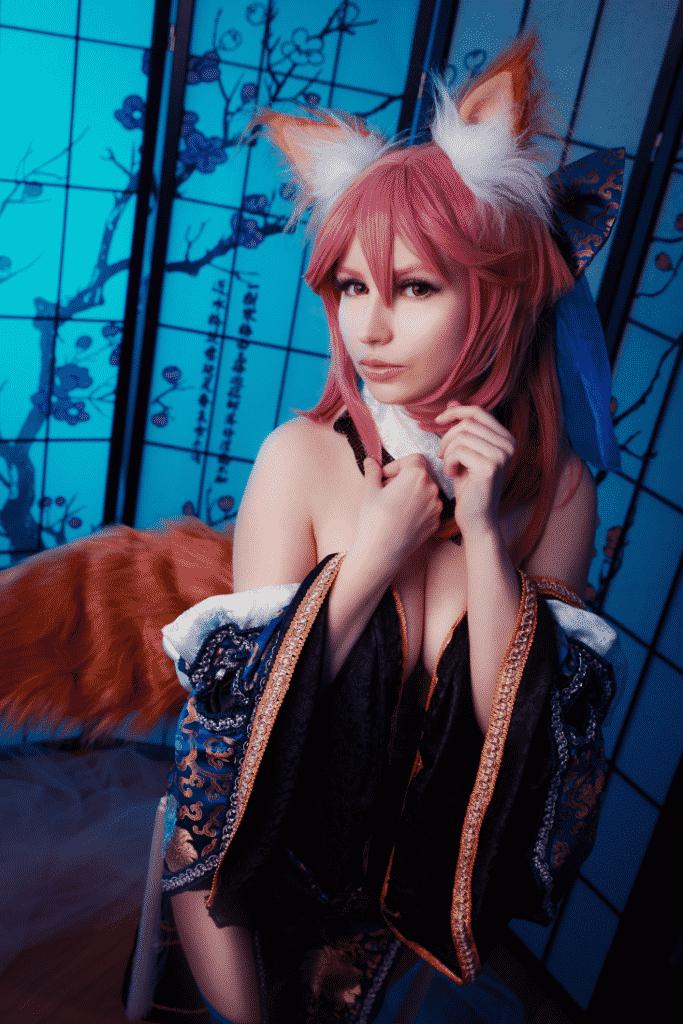 Tamamo parodie cosplay sexy