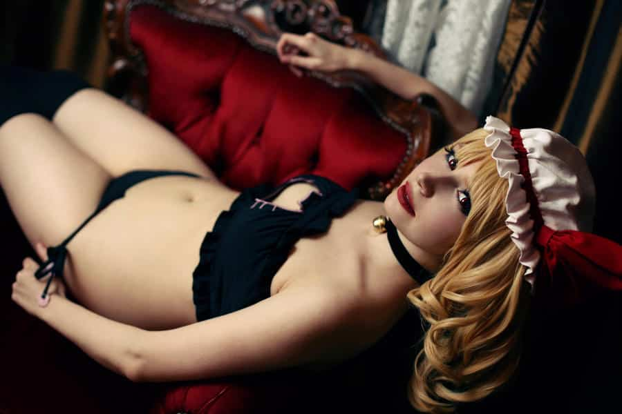 touhou project flandre scarlet cosplay hentai par ijido